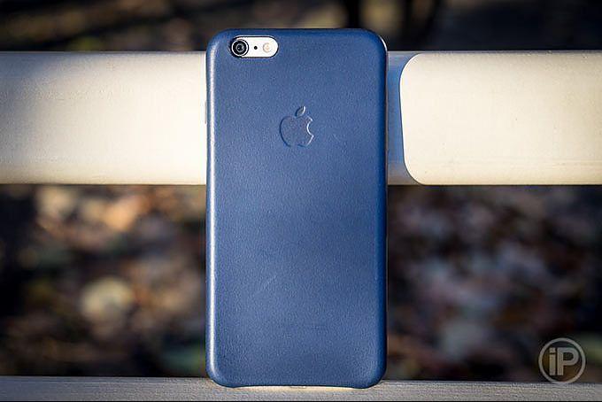 Обзор Apple Leather Case для iPhone 6/6s