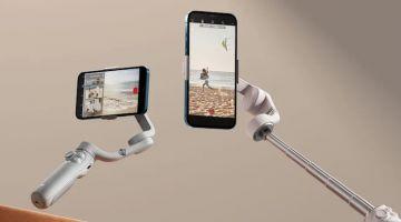 DJI представила стабилизатор для смартфонов, оснащённый телескопической ручкой — Osmo Mobile 5