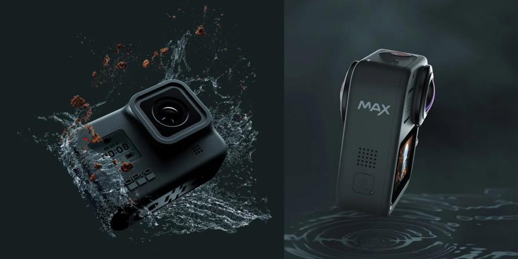 Представлена новая GoPro Hero 8 Black и камера 360 GoPro Max