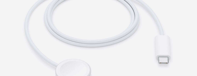 В комплекте с Apple Watch SE теперь тоже идёт кабель USB-C