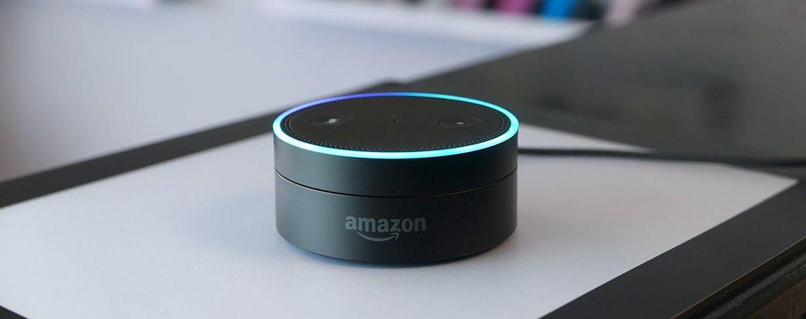 «Умная» колонка Echo Dot от Amazon