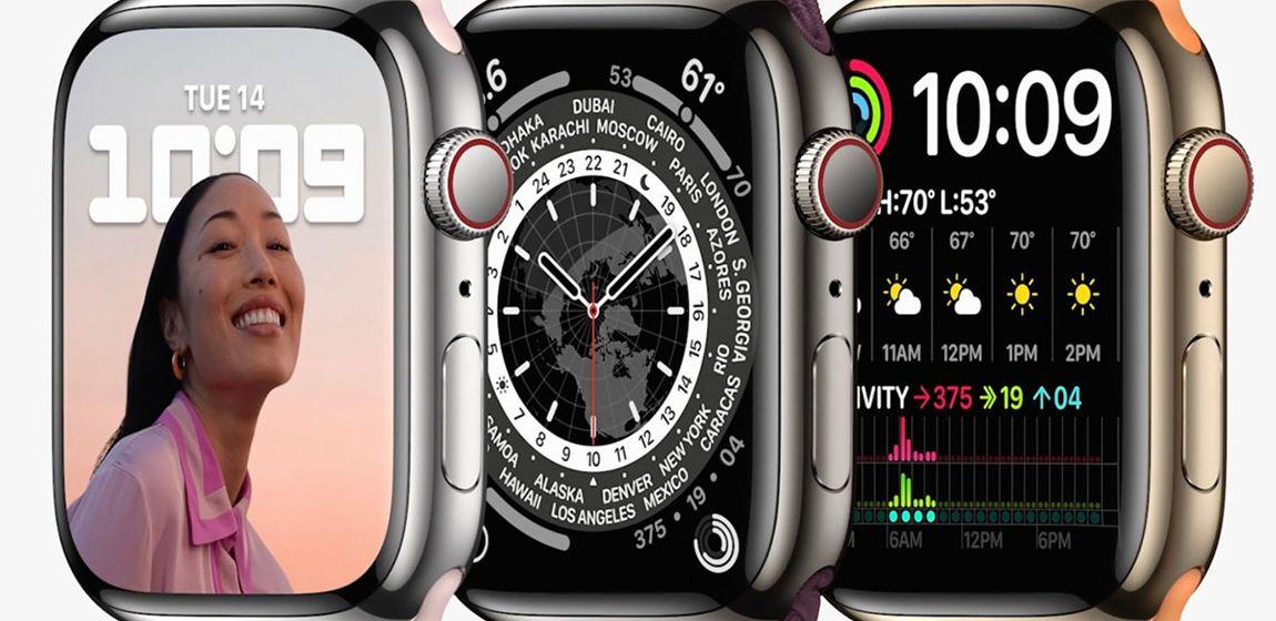 Apple Watch 7 вышли с процессором Apple Watch 6