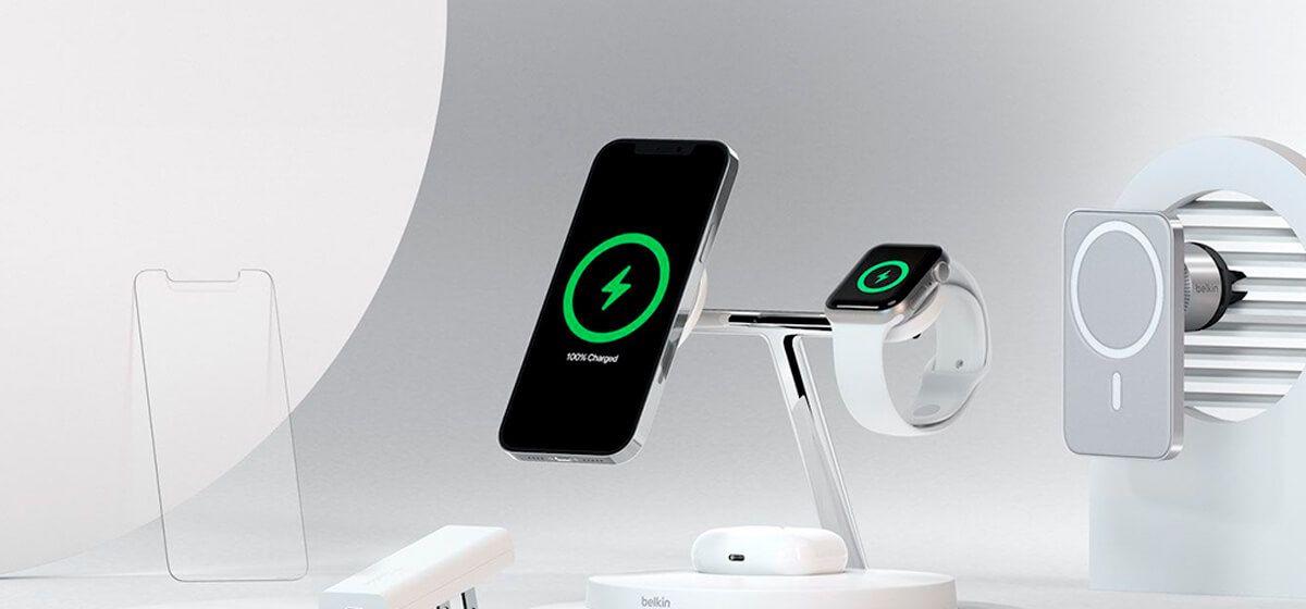 Belkin представила свою зарядку для iPhone 12