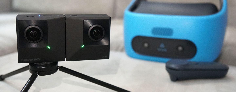EVO Insta360 – новая модель складной камеры