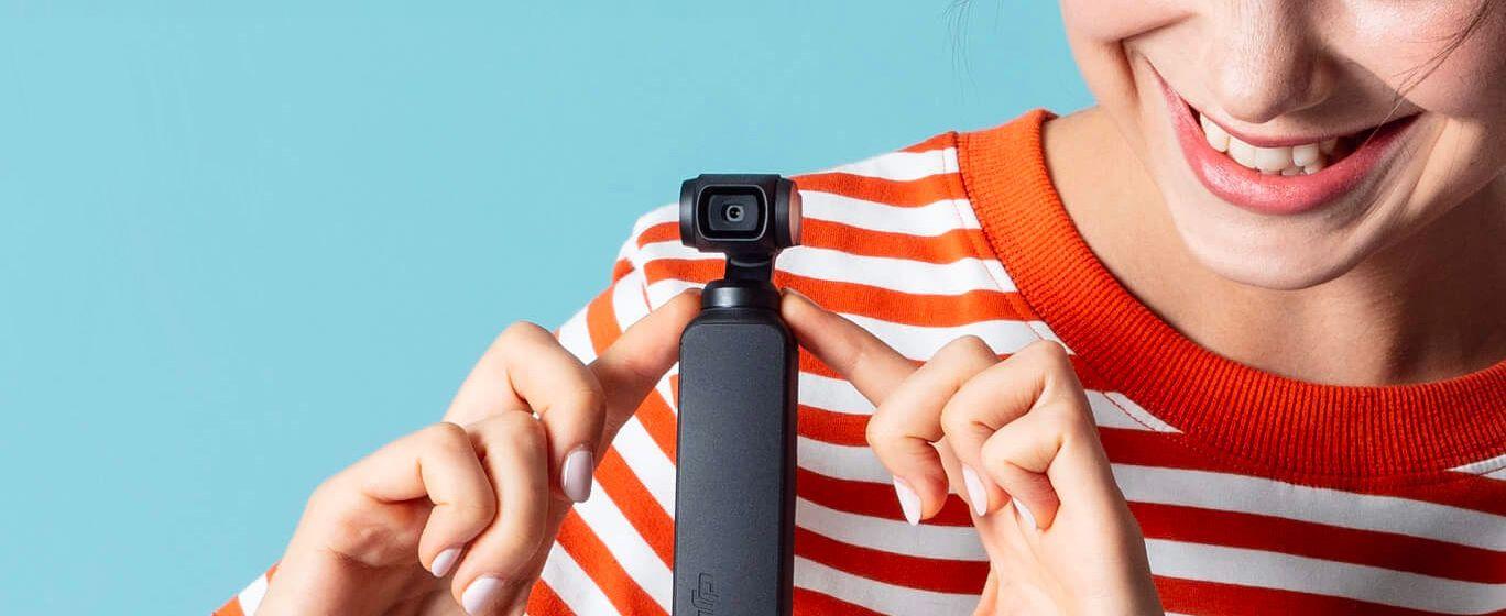 DJI Osmo Pocket — маленький убийца спортивных камер