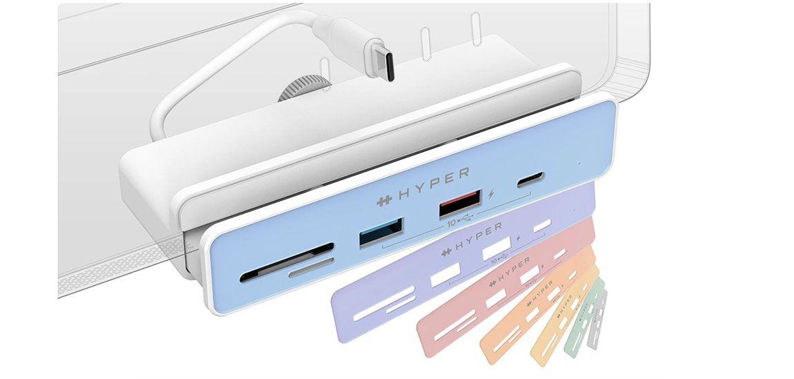 Hyper выпустила два хаба для iMac 24