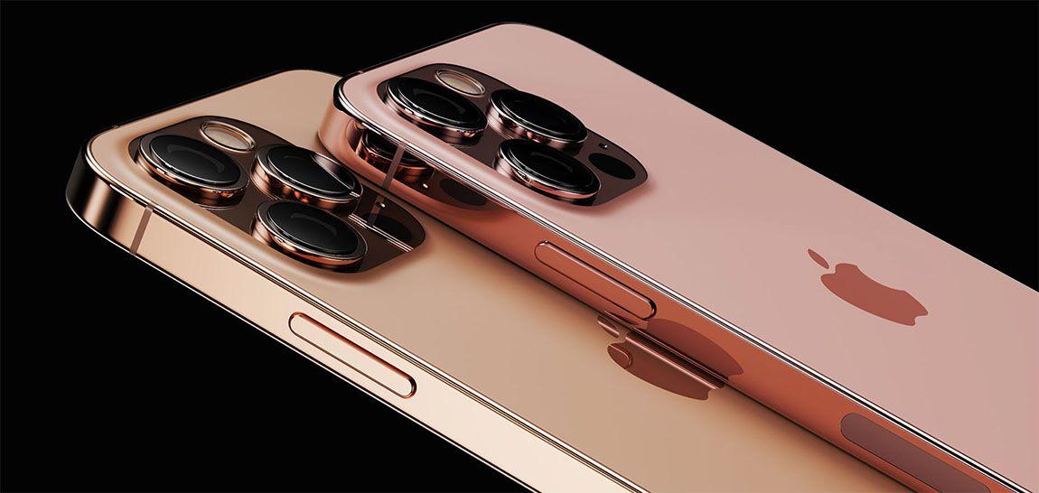 iPhone 13 Pro Max может быть в цветах Sunset Gold и Rose Gold