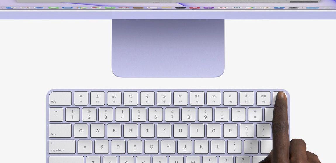 Magic Keyboard c Touch ID появилась в Apple Store