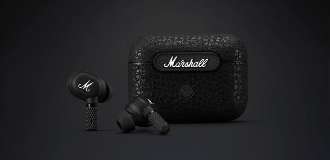 Marshall представила наушники Motif A.N.C. Это первые TWS-наушники бренда с активным шумоподавлением