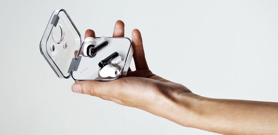 Представлены прозрачные беспроводные наушники Nothing Ear 1