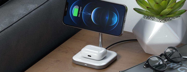 В Satechi представила магнитную зарядку для iPhone 12