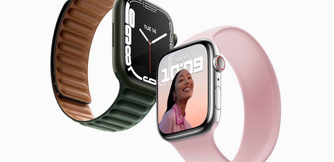 15 октября старт продаж Apple Watch Series 7