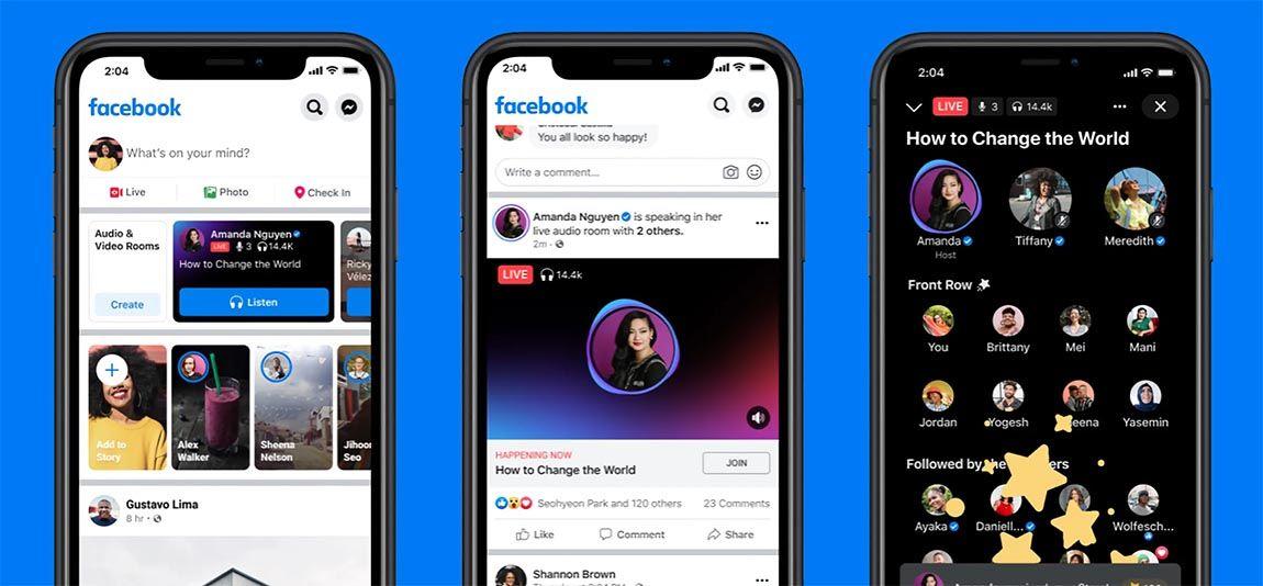 Facebook добавляет вкладку «Аудио» с подкастами, музыкой, клипами