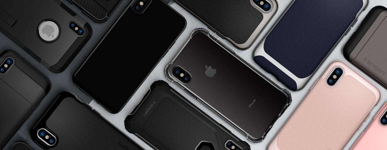 Компанией Spigen были представлены чехлы для новых смартфонов Apple iPhone 8/8 Plus и iPhone X