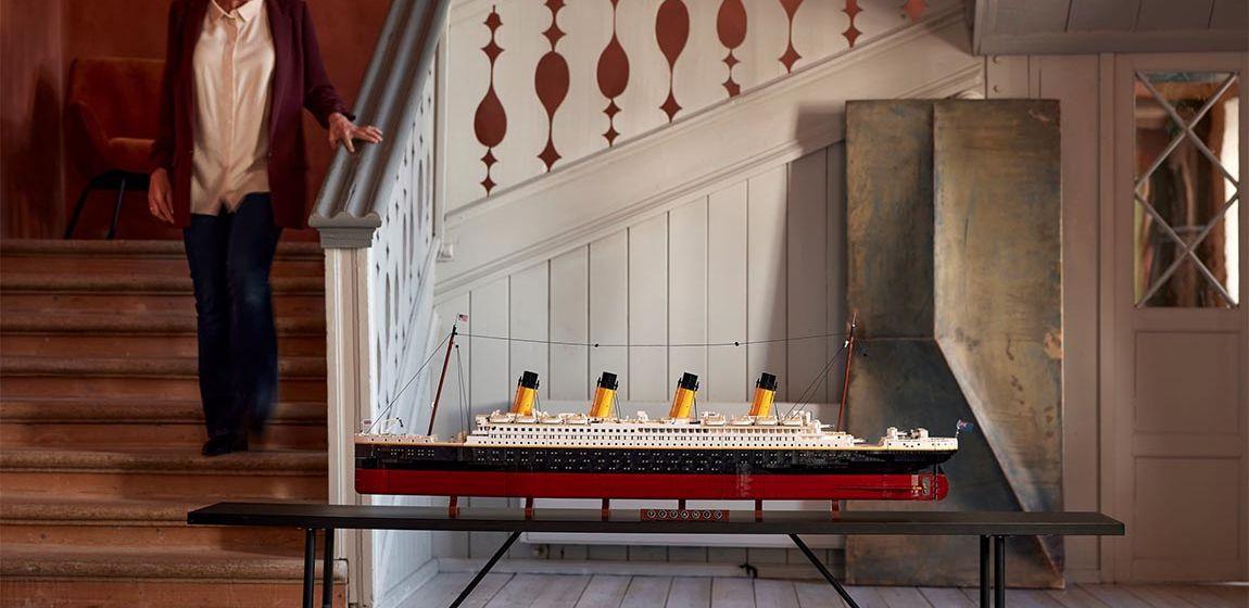 «Титаник» из LEGO