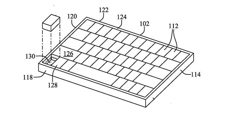В MacBook может появиться клавиатура со встроенной мышью