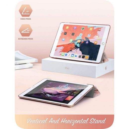 Чехол i-Blason Cosmo Case Marble Pink для iPad 10.2 (2019 | 2020 | 2021)