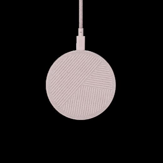 Беспроводное зарядное устройство Native Union Drop Wireless Charger Fabric Rose (DROP-ROSE-FB-V2)
