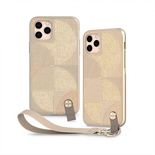 Чехол Moshi Altra Slim Case with Wrist Strap Sahara Beige (99MO117303) для iPhone 11 Pro
