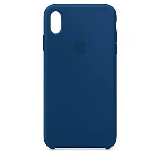 Чехол Apple Silicone Case Blue Horizont (High copy) для iPhone Xr