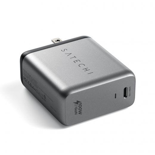 Зарядное устройство Satechi 100W USB-C Gan PD Wall Charger (ST-UC100WSM-EU)