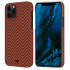 Чехол Pitaka MagEZ Red/Orange Herringbone (KI1207PM) для iPhone 12 Pro Max