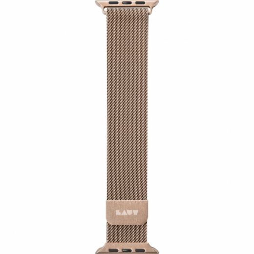 Ремешок Laut STEEL LOOP Gold (LAUT_AWL_ST_GD) для Apple Watch 42/44 mm