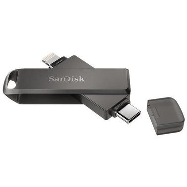 Флешка USB SanDisk iXpand Luxe 256GB Lightning (SDIX70N-256G-GN6NE)