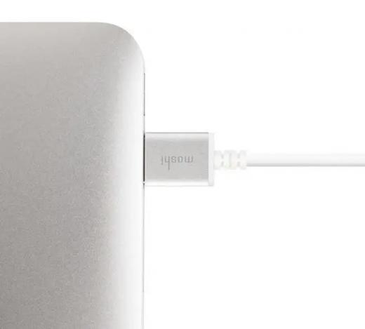 Кабель Moshi High Speed HDMI Cable (4K) White (2 m) (99MO023126)