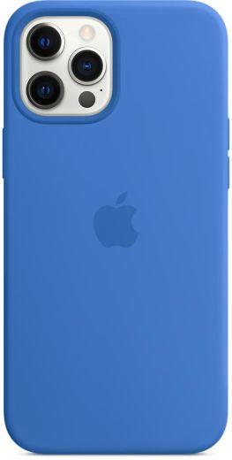 Чехол Apple Silicone Case Capri Blue (High copy) для iPhone 12 Pro Max