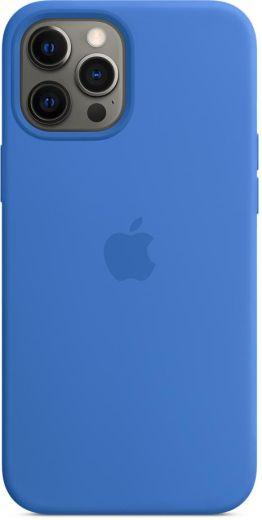 Чехол Apple Silicone Case Capri Blue (High copy) для iPhone 12 | 12 Pro