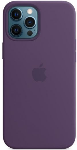 Чехол Apple Silicone Case Amethyst (High copy) для iPhone 12 Pro Max