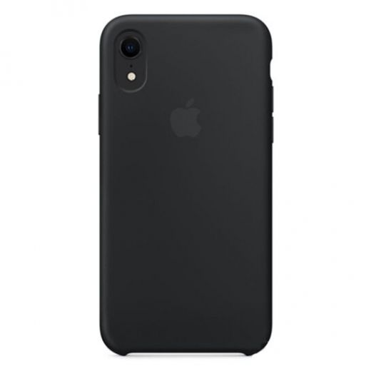 Чехол Apple Silicone Case Black (High copy) для iPhone XR