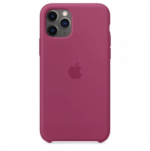 Чехол Apple Silicone Case Pomegranate (High copy) для iPhone 11