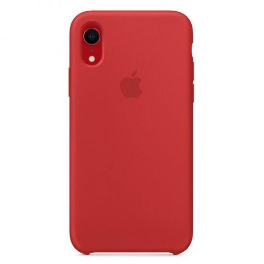 Чехол Apple Silicone Case Red (High copy) для iPhone XR
