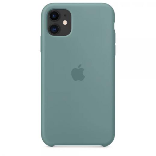 Чехол Apple Silicone Case Cactus (High copy) для iPhone 11