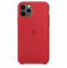 Чехол Apple Silicone Case Red (High copy) для iPhone 11