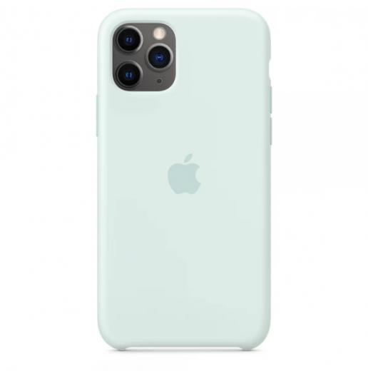 Чехол Apple Silicone Case Seafoam (High copy) для iPhone 11