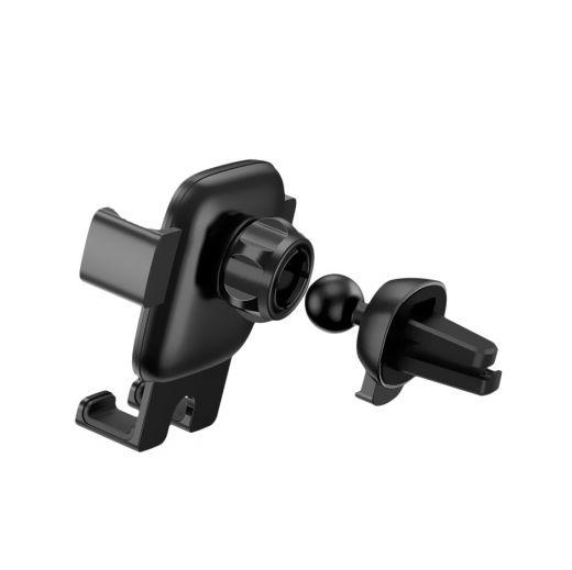 Универсальный автодержатель Baseus Cube Gravity Black