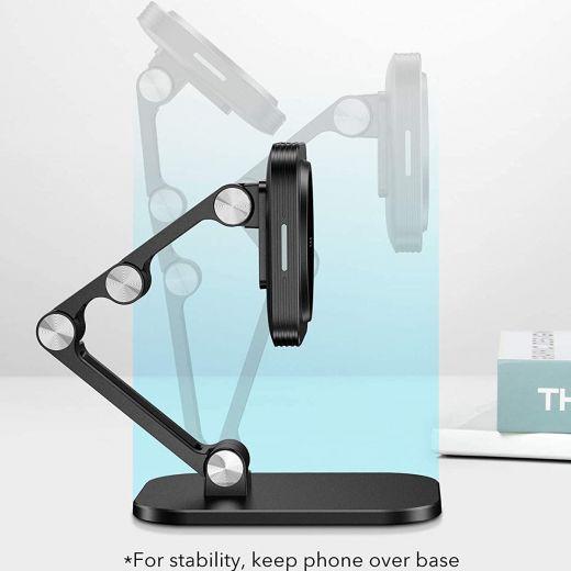 Беспроводная зарядка ESR Halolock Adjustable Magsafe Compatible Wireless Charging Stand для iPhone