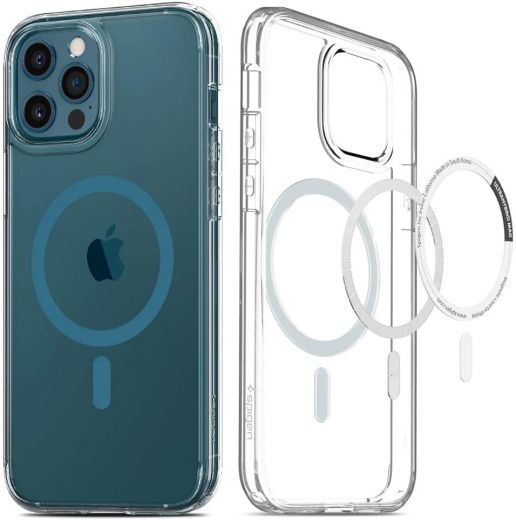 Чехол Spigen Ultra Hybrid Mag Pacific Blue для iPhone 12 Pro Max