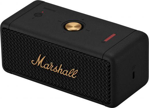 Акустика Marshall Portable Speaker Emberton Black and Brass (1005696)