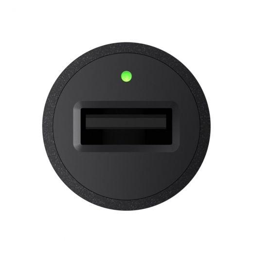 Автомобильное зарядное устройство Belkin Car Quick Charger 18W USB 3.0A, USB-C, 1.2м, black (F7U032BT04-BLK)