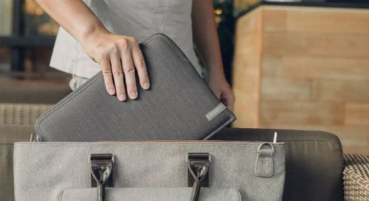 "Чехол Moshi Pluma Designer Laptop Sleeve Herringbone Gray (99MO104052) MacBook Pro 13""/MacBook Air 13"""