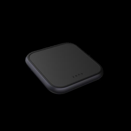 Беспроводная зарядка Zens Single Aluminium Wireless Charger Black with USB-C 18W PD Wall Charger (ZESC14B/00)