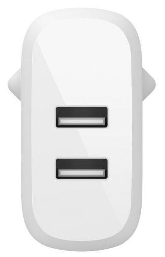 Сетевое зарядное устройство Belkin Boost Up Charge Dual USB-A Home Charger + USB-A/USB-C (WCE001VF1MWH)