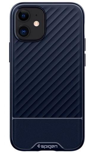 Чехол Spigen Core Armor Navy Blue (ACS01538) для iPhone 12 mini