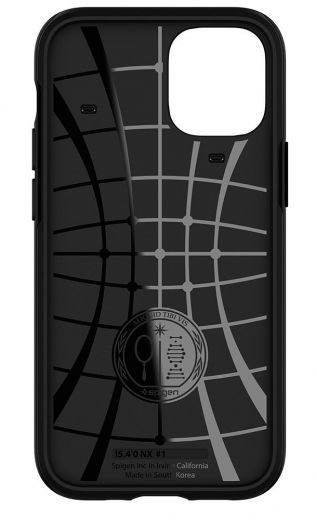 Чехол Spigen Hybrid NX Matte Black (ACS01541) для iPhone 12 mini
