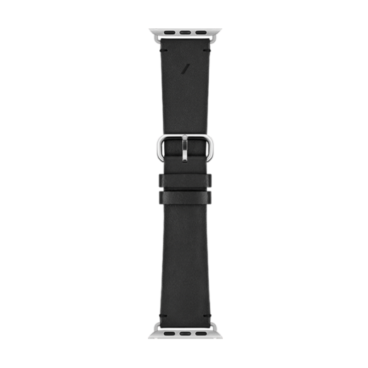 Кожаный ремешок Native Union Classic Strap Black (STRAP-AW-L-BLK) для Apple Watch 42mm/44mm