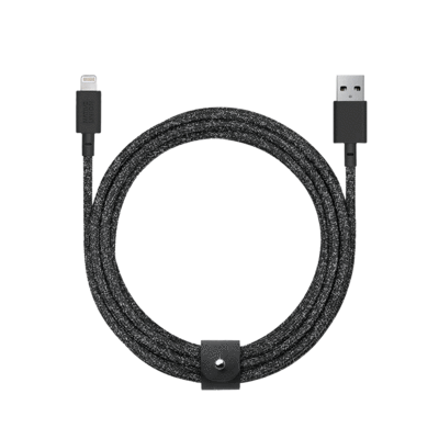 Кабель Native Union Belt Cable XL Lightning Cosmos Black (3 m) (BELT-L-CS-BLK-3-NP)